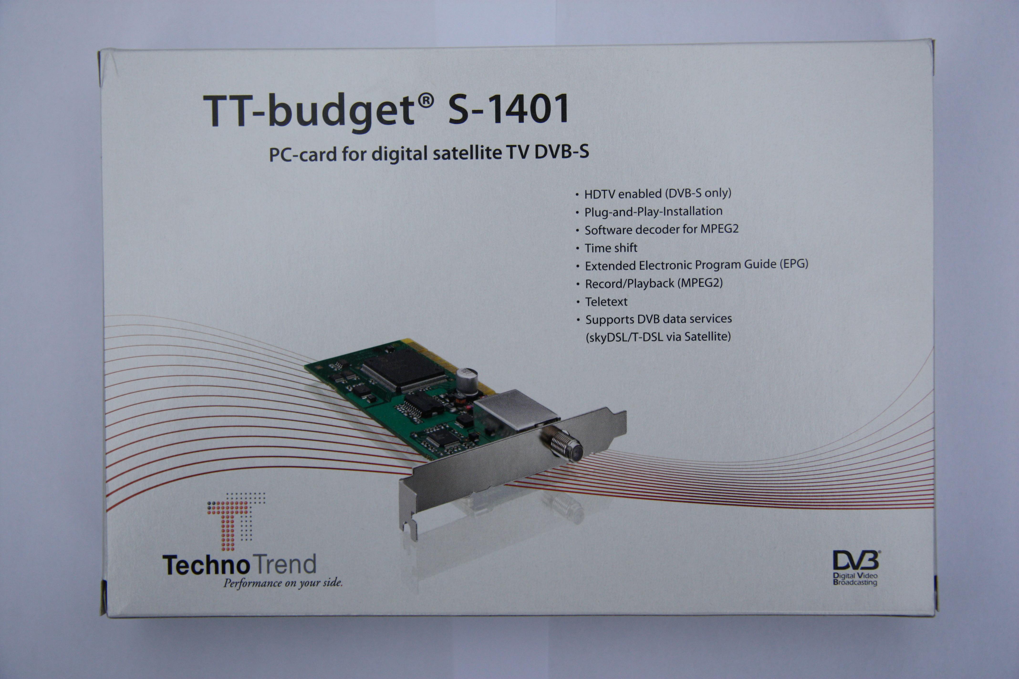 Драйвера Tt Budget S 1401
