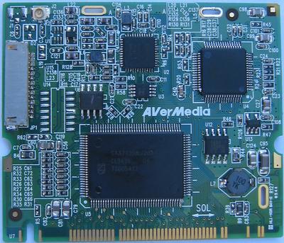 Avermedia M-103C (component side)