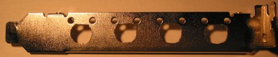 Routerboard 14 PCI bracket with 4 mounting holes
