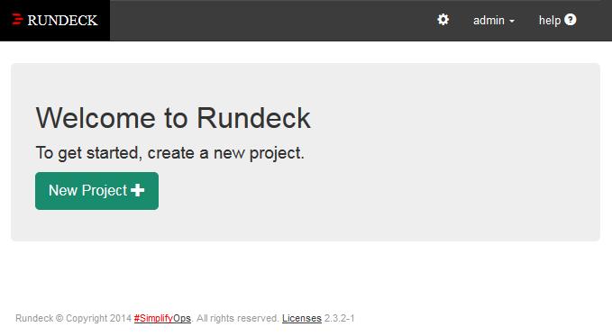 Rundeck v2 3 2 on CentOS v7 — Lucid Solutions