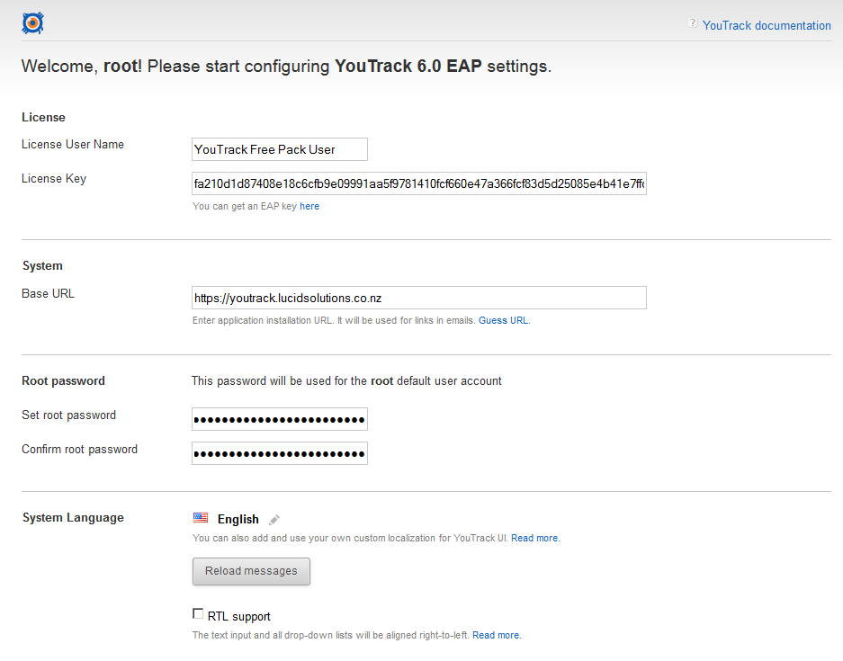 YouTrack v6 x on CentOS v7 0 as a WAR install — Lucid Solutions