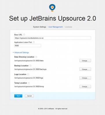 JetBrains Upsource v2 Configuration - 2015-09-30_095327.png