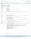 Screensnap of google analytics code in Plone 3 site setup