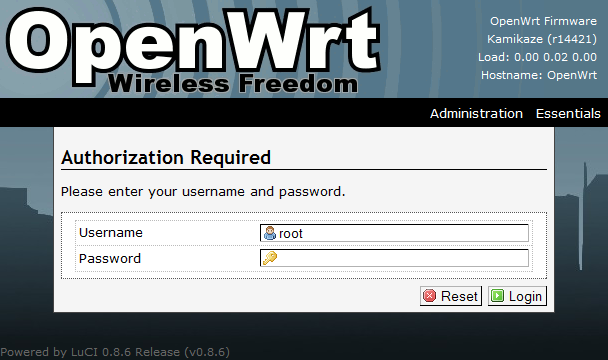 OpenWRT 8 09 and X-Wrt Installation on PC Engines Wrap